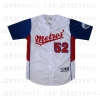 Metros_Custom_Baseball_Jersey_L